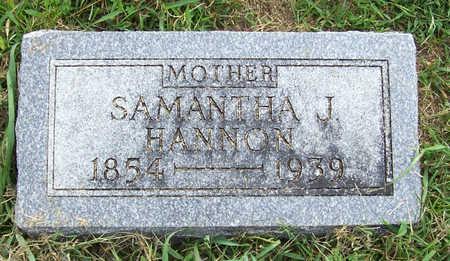 HANNON, SAMANTHA J. (MOTHER) - Shelby County, Iowa | SAMANTHA J. (MOTHER) HANNON