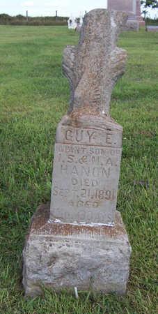 HANON, GUY E. - Shelby County, Iowa | GUY E. HANON