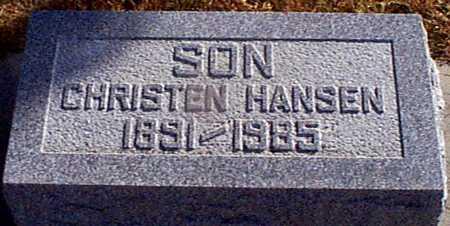 HANSEN, CHRISTEN - Shelby County, Iowa | CHRISTEN HANSEN