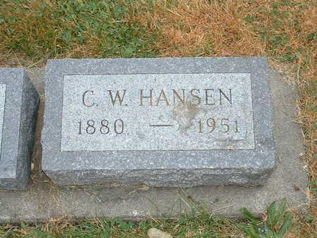 HANSEN, C W - Shelby County, Iowa | C W HANSEN