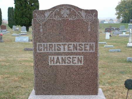 HANSEN, CLARENCE N - Shelby County, Iowa | CLARENCE N HANSEN