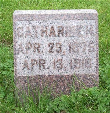 HANSEN, CATHARINE H. - Shelby County, Iowa | CATHARINE H. HANSEN