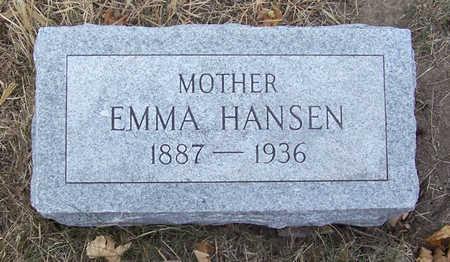 HANSEN, EMMA (MOTHER) - Shelby County, Iowa   EMMA (MOTHER) HANSEN