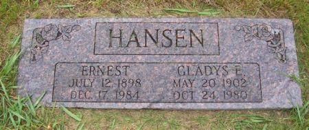 HANSEN, ERNEST - Shelby County, Iowa | ERNEST HANSEN