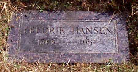 HANSEN, FREDRIK - Shelby County, Iowa | FREDRIK HANSEN
