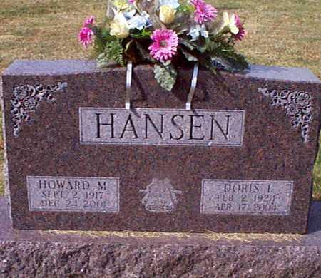 HANSEN, HOWARD M - Shelby County, Iowa | HOWARD M HANSEN