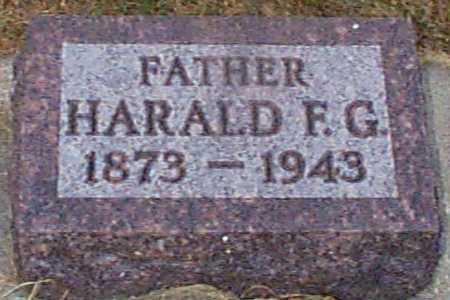 HANSEN, HAROLD F G - Shelby County, Iowa | HAROLD F G HANSEN