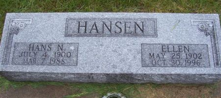 HANSEN, HANS N. - Shelby County, Iowa | HANS N. HANSEN