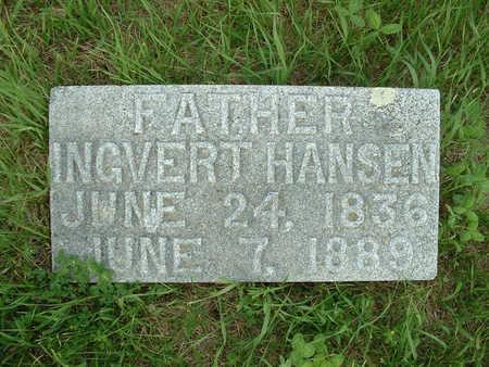 HANSEN, INGVERT - Shelby County, Iowa   INGVERT HANSEN