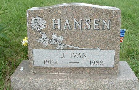 HANSEN, JAMES IVAN - Shelby County, Iowa | JAMES IVAN HANSEN