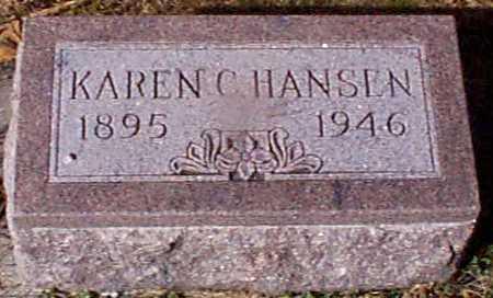 HANSEN, KAREN C - Shelby County, Iowa | KAREN C HANSEN