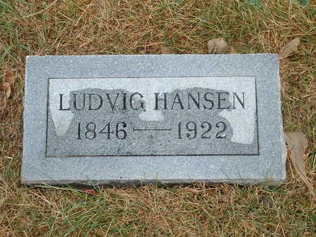 HANSEN, LUDVIG - Shelby County, Iowa   LUDVIG HANSEN