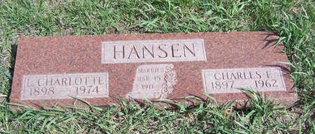 HANSEN, L. CHARLOTTE - Shelby County, Iowa | L. CHARLOTTE HANSEN