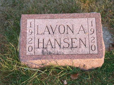 HANSEN, LAVON A - Shelby County, Iowa | LAVON A HANSEN