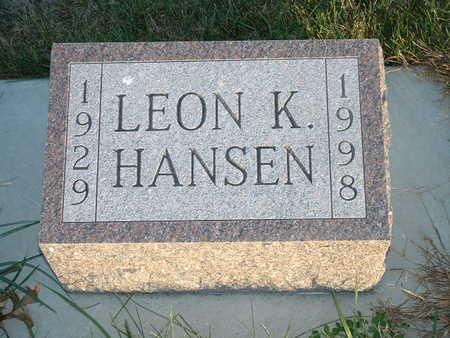 HANSEN, LEON K - Shelby County, Iowa | LEON K HANSEN