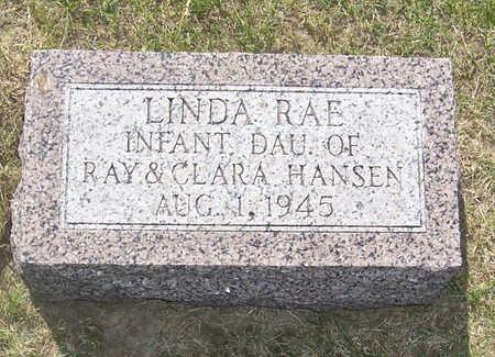 HANSEN, LINDA RAE - Shelby County, Iowa | LINDA RAE HANSEN
