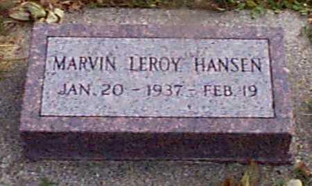 HANSEN, MARVIN LEROY - Shelby County, Iowa | MARVIN LEROY HANSEN