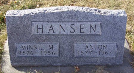 HANSEN, ANTON - Shelby County, Iowa | ANTON HANSEN