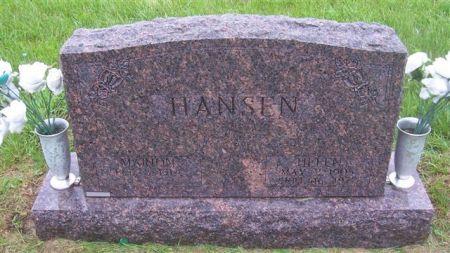 HANSEN, MARION - Shelby County, Iowa | MARION HANSEN