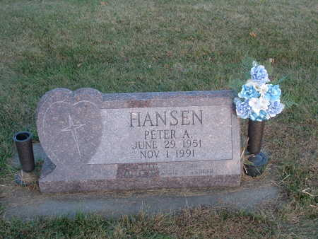 HANSEN, PETER A - Shelby County, Iowa | PETER A HANSEN