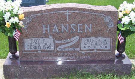 BOETTGER HANSEN, FRIEDA ANNA - Shelby County, Iowa | FRIEDA ANNA BOETTGER HANSEN