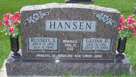 BLAKELY HANSEN, LILLIAN G. - Shelby County, Iowa | LILLIAN G. BLAKELY HANSEN