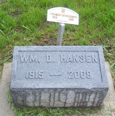 HANSEN, WM. D. - Shelby County, Iowa   WM. D. HANSEN