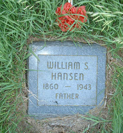 HANSEN, WILLIAM S - Shelby County, Iowa | WILLIAM S HANSEN