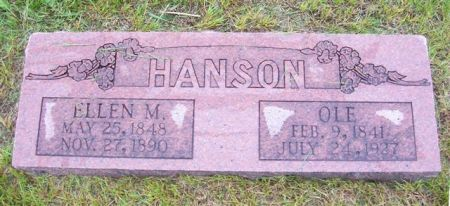 HANSON, OLE - Shelby County, Iowa | OLE HANSON
