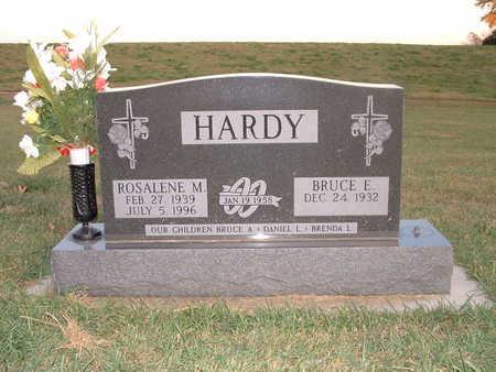 HARDY, BRUCE E - Shelby County, Iowa   BRUCE E HARDY