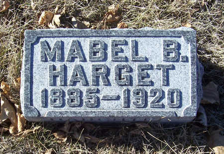 HARGET, MABEL B. - Shelby County, Iowa   MABEL B. HARGET