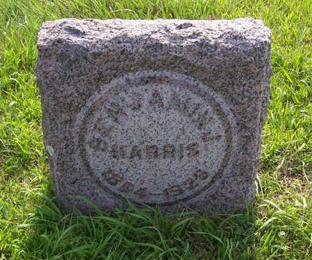 HARRIS, BENJAMIN - Shelby County, Iowa | BENJAMIN HARRIS