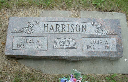 HANSEN HARRISON, ETHEL A - Shelby County, Iowa | ETHEL A HANSEN HARRISON