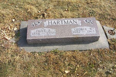 HARTMAN, GEORGE W. - Shelby County, Iowa | GEORGE W. HARTMAN