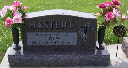 HASTERT, CHRIS W. - Shelby County, Iowa | CHRIS W. HASTERT
