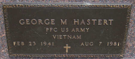 HASTERT, GEORGE M. (MILITARY) - Shelby County, Iowa | GEORGE M. (MILITARY) HASTERT