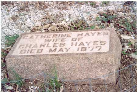 HAYES, CATHERINE - Shelby County, Iowa | CATHERINE HAYES