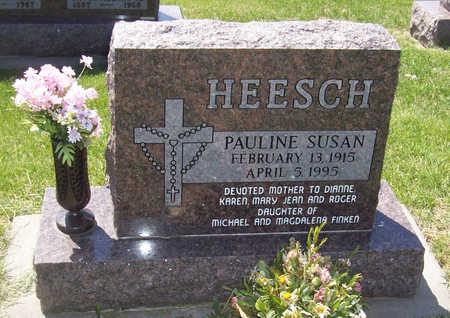 HEESCH, PAULINE - Shelby County, Iowa   PAULINE HEESCH