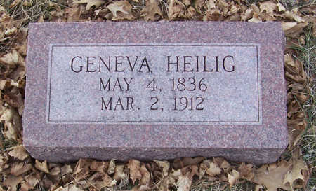 HEILIG, GENEVA - Shelby County, Iowa | GENEVA HEILIG