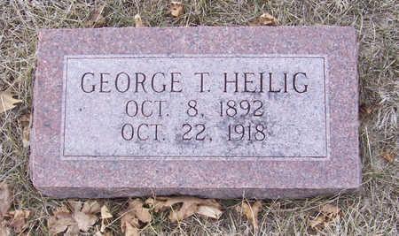 HEILIG, GEORGE T. - Shelby County, Iowa | GEORGE T. HEILIG