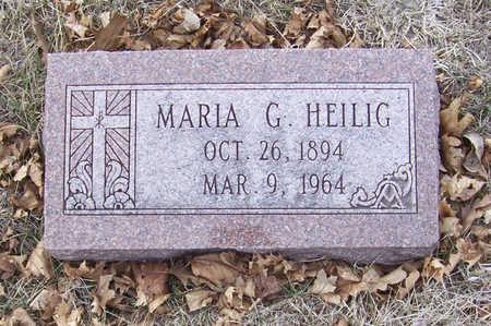 HEILIG, MARIA G. - Shelby County, Iowa | MARIA G. HEILIG