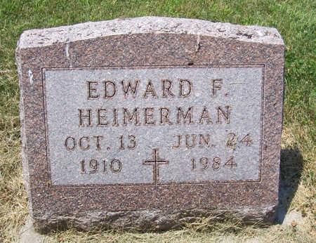 HEIMERMAN, EDWARD F. - Shelby County, Iowa | EDWARD F. HEIMERMAN