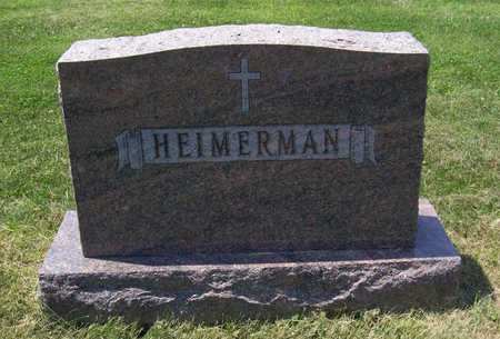 HEIMERMAN, JOHN & MARY (LOT) - Shelby County, Iowa | JOHN & MARY (LOT) HEIMERMAN