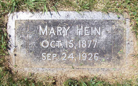 HEIN, MARY - Shelby County, Iowa   MARY HEIN