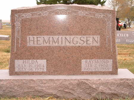 HEMMINGSEN, RAYMOND - Shelby County, Iowa | RAYMOND HEMMINGSEN