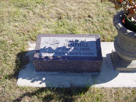 HEMPHILL, MARTHA L - Shelby County, Iowa | MARTHA L HEMPHILL
