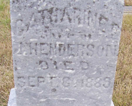 HENDERSON, CATHARINE (CLOSE-UP) - Shelby County, Iowa | CATHARINE (CLOSE-UP) HENDERSON