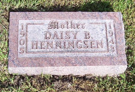 HENNINGSEN, DAISY B. (MOTHER) - Shelby County, Iowa | DAISY B. (MOTHER) HENNINGSEN