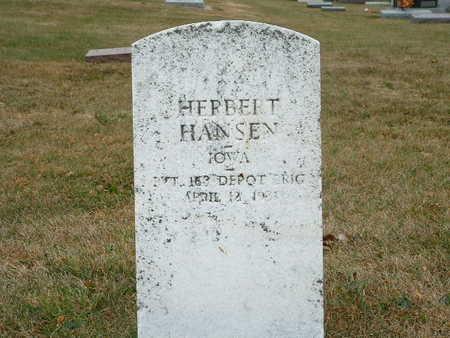 HANSEN, HERBERT - Shelby County, Iowa | HERBERT HANSEN