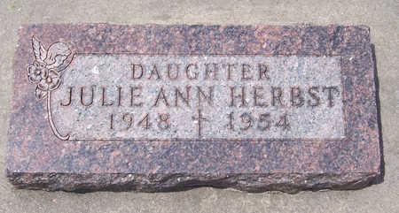 HERBST, JULIE ANN - Shelby County, Iowa | JULIE ANN HERBST
